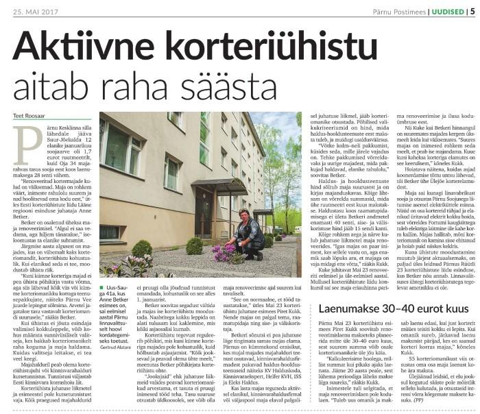 """Loe edasi ajalehest """"Pärnu Postimees"""""""